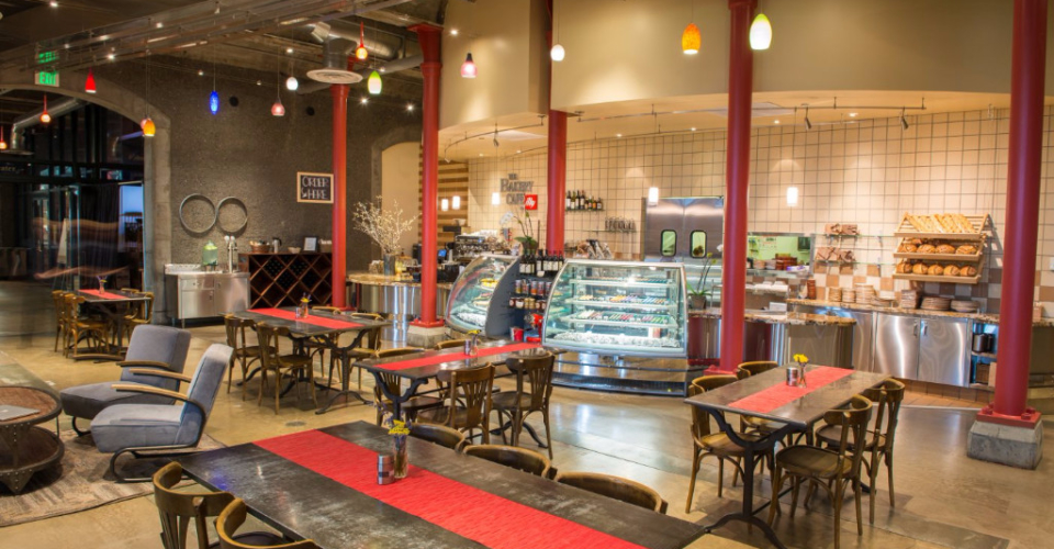 The Bakery Café by illy, at The Culinary Institute of America at Greystone in St. Helena, CA.
