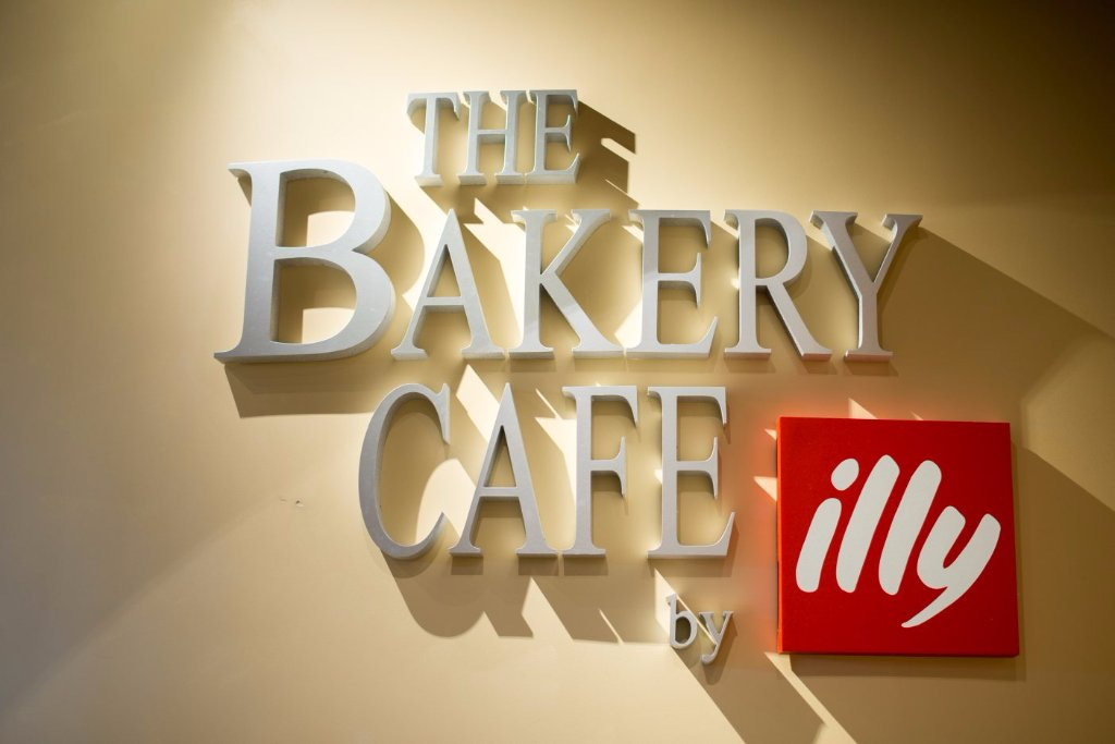 Sign at The Bakery Café by illy, located at the CIA at Greystone in St. Helena, CA.