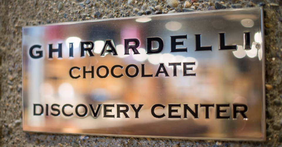 Ghiradelli Chocolate Discovery Center at The Bakery Café by illy, CIA at Greystone in St. Helena, CA